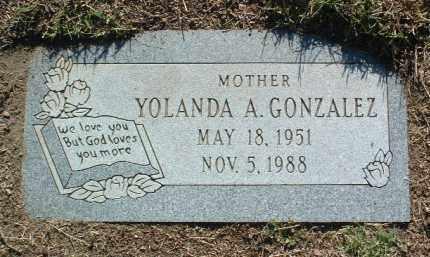 RAMOS GONZALEZ, Y. A. - Yavapai County, Arizona | Y. A. RAMOS GONZALEZ - Arizona Gravestone Photos