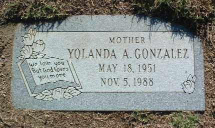 GONZALEZ, YOULANDA A. - Yavapai County, Arizona | YOULANDA A. GONZALEZ - Arizona Gravestone Photos