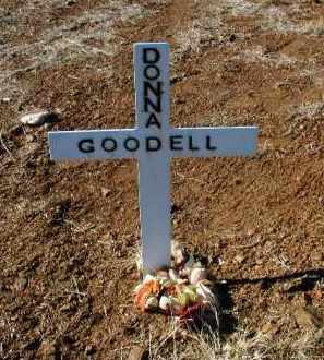 GOODELL, DONNA - Yavapai County, Arizona | DONNA GOODELL - Arizona Gravestone Photos