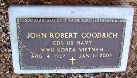 GOODRICH, JOHN ROBERT - Yavapai County, Arizona | JOHN ROBERT GOODRICH - Arizona Gravestone Photos