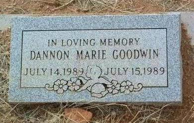 GOODWIN, DANNON MARIE - Yavapai County, Arizona | DANNON MARIE GOODWIN - Arizona Gravestone Photos
