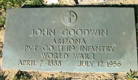 GOODWIN, JOHN CLARENCE - Yavapai County, Arizona | JOHN CLARENCE GOODWIN - Arizona Gravestone Photos