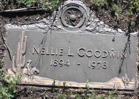 GOODWIN, NELLIE L. - Yavapai County, Arizona | NELLIE L. GOODWIN - Arizona Gravestone Photos