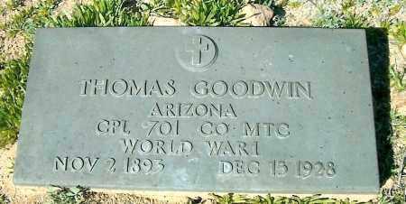 GOODWIN, THOMAS - Yavapai County, Arizona   THOMAS GOODWIN - Arizona Gravestone Photos