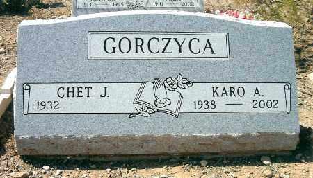GORCZYCA, KARO A. (CAROL) - Yavapai County, Arizona | KARO A. (CAROL) GORCZYCA - Arizona Gravestone Photos