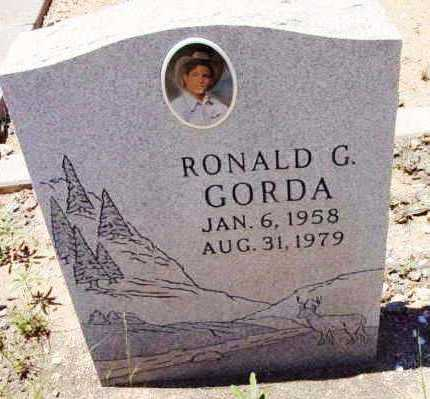 GORDA, RONALD GENE - Yavapai County, Arizona | RONALD GENE GORDA - Arizona Gravestone Photos