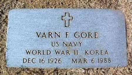 GORE, VARN F. - Yavapai County, Arizona | VARN F. GORE - Arizona Gravestone Photos