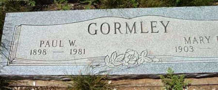 GORMLEY, PAUL W. - Yavapai County, Arizona | PAUL W. GORMLEY - Arizona Gravestone Photos