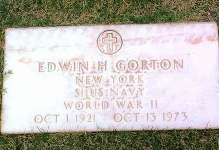 GORTON, EDWIN HARDIMAN, JR. - Yavapai County, Arizona   EDWIN HARDIMAN, JR. GORTON - Arizona Gravestone Photos