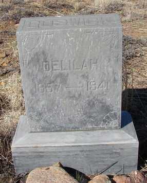 GOSWICK, DELILAH F. - Yavapai County, Arizona | DELILAH F. GOSWICK - Arizona Gravestone Photos