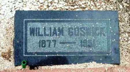 GOSWICK, WILLIAM M. (BILL) - Yavapai County, Arizona   WILLIAM M. (BILL) GOSWICK - Arizona Gravestone Photos