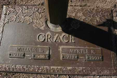 GRACE, WILLIAM ERNEST - Yavapai County, Arizona | WILLIAM ERNEST GRACE - Arizona Gravestone Photos