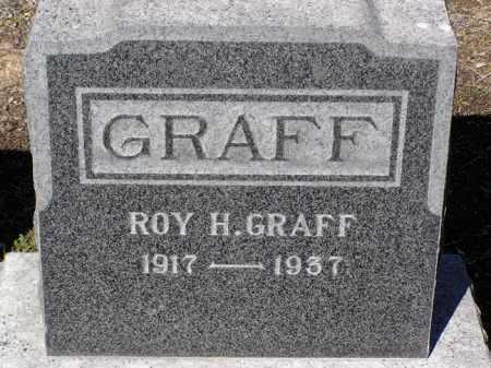 GRAFF, ROY HICKS - Yavapai County, Arizona   ROY HICKS GRAFF - Arizona Gravestone Photos