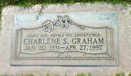 GRAHAM, CHARLENE S. - Yavapai County, Arizona | CHARLENE S. GRAHAM - Arizona Gravestone Photos