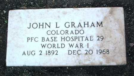 GRAHAM, JOHN L - Yavapai County, Arizona | JOHN L GRAHAM - Arizona Gravestone Photos