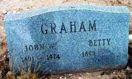 GRAHAM, BETTY - Yavapai County, Arizona | BETTY GRAHAM - Arizona Gravestone Photos