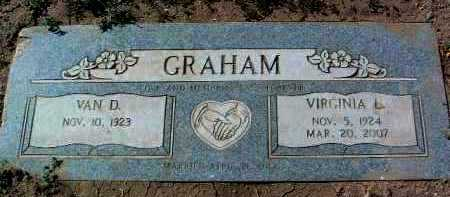 GRAHAM, VIRGINIA L. - Yavapai County, Arizona | VIRGINIA L. GRAHAM - Arizona Gravestone Photos
