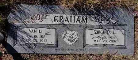 GRAHAM, VAN DALE - Yavapai County, Arizona   VAN DALE GRAHAM - Arizona Gravestone Photos