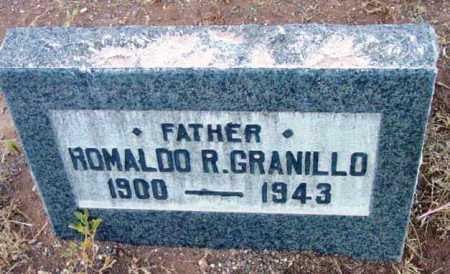 GRANILLO, ROMALDO R. - Yavapai County, Arizona | ROMALDO R. GRANILLO - Arizona Gravestone Photos