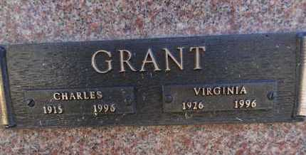 GRANT, CHARLES - Yavapai County, Arizona   CHARLES GRANT - Arizona Gravestone Photos