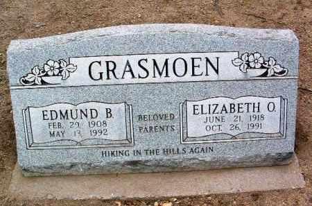 DAVIS GRASMOEN, E. O. - Yavapai County, Arizona | E. O. DAVIS GRASMOEN - Arizona Gravestone Photos