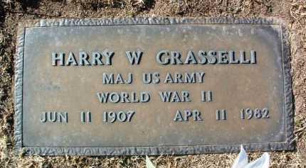 GRASSELLI, HARRY WILLIAMS - Yavapai County, Arizona | HARRY WILLIAMS GRASSELLI - Arizona Gravestone Photos