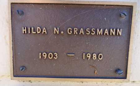 GRASSMANN, HILDA N. - Yavapai County, Arizona | HILDA N. GRASSMANN - Arizona Gravestone Photos