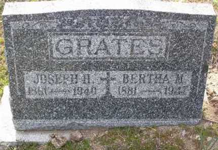 GRATES, BERTHA M. - Yavapai County, Arizona | BERTHA M. GRATES - Arizona Gravestone Photos