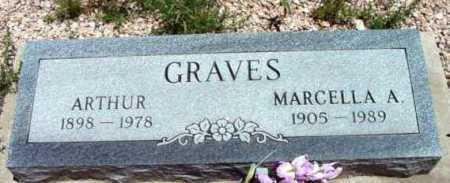 GRAVES, MARCELLA A. - Yavapai County, Arizona | MARCELLA A. GRAVES - Arizona Gravestone Photos