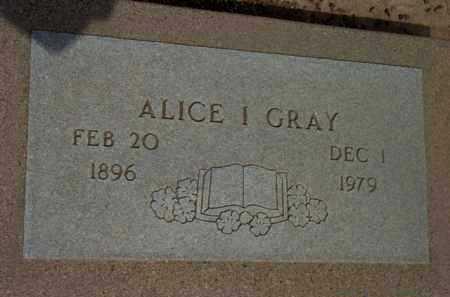 GRAY, ALICE I. - Yavapai County, Arizona | ALICE I. GRAY - Arizona Gravestone Photos