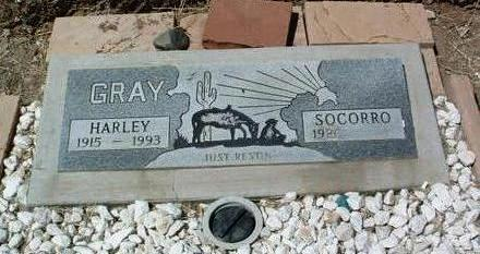 GRAY, SOCORRO - Yavapai County, Arizona   SOCORRO GRAY - Arizona Gravestone Photos