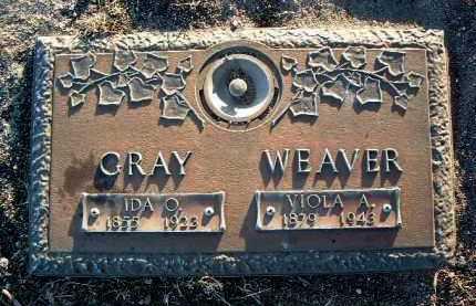 WEAVER, IDA O. - Yavapai County, Arizona | IDA O. WEAVER - Arizona Gravestone Photos