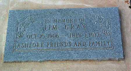 GRAY, JIM - Yavapai County, Arizona | JIM GRAY - Arizona Gravestone Photos