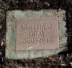 GRAY, MARTHA J. - Yavapai County, Arizona | MARTHA J. GRAY - Arizona Gravestone Photos
