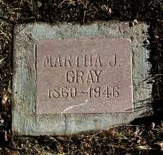 GRAY, MARTHA J. - Yavapai County, Arizona | MARTHA J. GRAY - Arizona Gravestone Photos