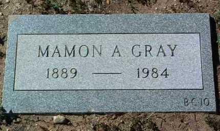 GRAY, MAMON A. - Yavapai County, Arizona | MAMON A. GRAY - Arizona Gravestone Photos