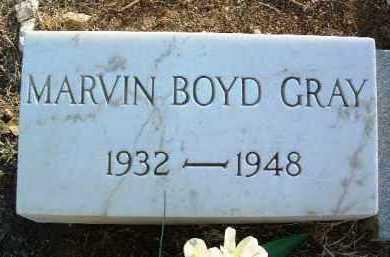 GRAY, MARVIN BOYD - Yavapai County, Arizona | MARVIN BOYD GRAY - Arizona Gravestone Photos