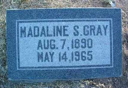 GRAY, MADALINE S. - Yavapai County, Arizona | MADALINE S. GRAY - Arizona Gravestone Photos