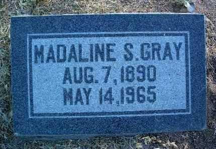 GRAY, MADALINE S. - Yavapai County, Arizona | MADALINE S. GRAY - Arizona Gravestone Photos