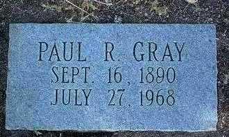 GRAY, PAUL R. - Yavapai County, Arizona | PAUL R. GRAY - Arizona Gravestone Photos