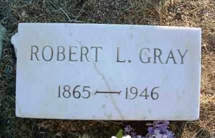 GRAY, ROBERT LEE - Yavapai County, Arizona   ROBERT LEE GRAY - Arizona Gravestone Photos