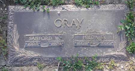 GRAY, SANFORD W. - Yavapai County, Arizona | SANFORD W. GRAY - Arizona Gravestone Photos