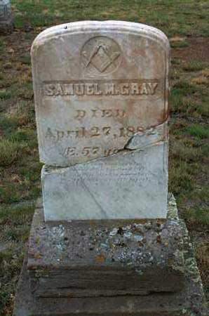 GRAY, SAMUEL MARKS - Yavapai County, Arizona | SAMUEL MARKS GRAY - Arizona Gravestone Photos