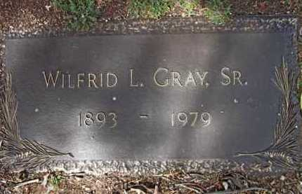 GRAY, WILFRID LAURIEN, SR. - Yavapai County, Arizona   WILFRID LAURIEN, SR. GRAY - Arizona Gravestone Photos