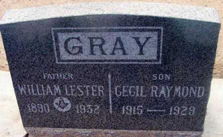 GRAY, WILLIAM LESTER - Yavapai County, Arizona | WILLIAM LESTER GRAY - Arizona Gravestone Photos