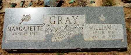 GRAY, MARGARETTE - Yavapai County, Arizona | MARGARETTE GRAY - Arizona Gravestone Photos