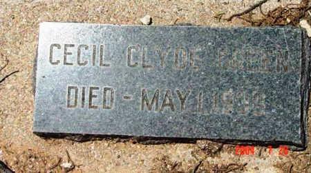 GREEN, CECIL CLYDE - Yavapai County, Arizona | CECIL CLYDE GREEN - Arizona Gravestone Photos