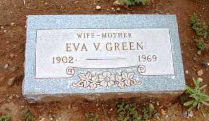 GREEN, EVA V. - Yavapai County, Arizona | EVA V. GREEN - Arizona Gravestone Photos