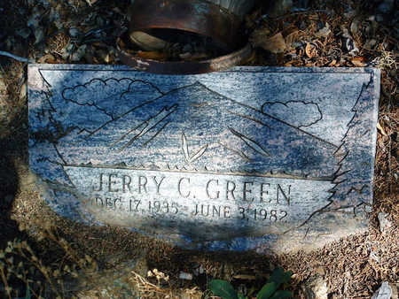 GREEN, JERRY CYRUS - Yavapai County, Arizona | JERRY CYRUS GREEN - Arizona Gravestone Photos