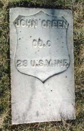 GREEN, JOHN - Yavapai County, Arizona | JOHN GREEN - Arizona Gravestone Photos